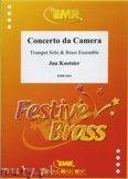 Okładka: Koetsier Jan, Concerto da Camera for Trumpet Solo and Brass Ensemble