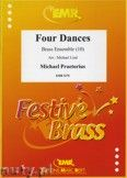 Okładka: Praetorius Michael, Four Dances for Brass Ensemble and Percussion