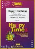 Okładka: Mortimer John Glenesk, Happy Birthday for Clarinet and Horn