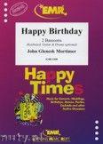 Okładka: Mortimer John Glenesk, Happy Birthday for 2 Bassoons