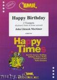 Okładka: Mortimer John Glenesk, Happy Birthday - Trumpet