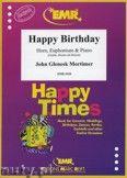 Okładka: Mortimer John Glenesk, Happy Birthday for Horn and Euphonium