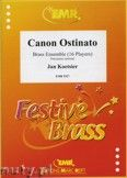 Okładka: Koetsier Jan, Canon Ostinato for Brass Ensemble (16 Players)