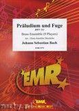 Okładka: Bach Johann Sebastian, Preludium and Fuga (BWV 532) for Brass Ensemble