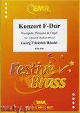 Okładka: Händel George Friedrich, Konzert F-Dur für Trompete, Posaune und Orgel