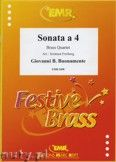 Okładka: Buonamente Giovanni Battista, Sonata a 4 - BRASS ENSAMBLE