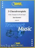 Okładka: Koetsier Jan, Drei Choralvorspiele (Trompete in D) - Trumpet