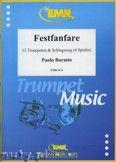 Okładka: Baratto Paolo, Festfanfare for 12 Trumpets and Percussion