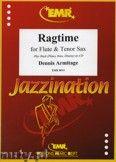 Okładka: Armitage Dennis, Ragtime for Flute and Tenor Sax