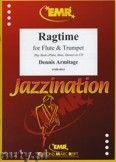 Okładka: Armitage Dennis, Ragtime for Flute and Trumpet
