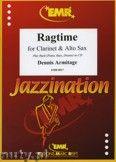 Okładka: Armitage Dennis, Ragtime for Clarinet and Alto Sax
