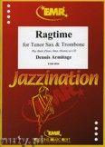 Okładka: Armitage Dennis, Ragtime for Tenor Sax and Trombone