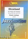 Okładka: Armitage Dennis, Dixieland for Flute and Clarinet