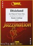 Okładka: Armitage Dennis, Dixieland for Flute and Tenor Sax