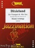 Okładka: Armitage Dennis, Dixieland for Trumpet and Alto Sax