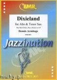 Okładka: Armitage Dennis, Dixieland for Alto and Tenor Sax
