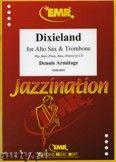 Okładka: Armitage Dennis, Dixieland for Alto Sax and Trombone