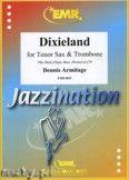 Okładka: Armitage Dennis, Dixieland for Tenor Sax and Trombone