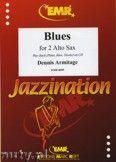 Okładka: Armitage Dennis, Blues - Saxophone