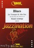 Okładka: Armitage Dennis, Blues for Trumpet and Alto Sax