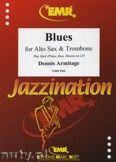 Okładka: Armitage Dennis, Blues for Alto Sax and Trombone