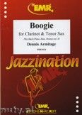 Okładka: Armitage Dennis, Boogie for Clarinet and Tenor Sax