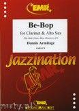 Okładka: Armitage Dennis, Be-Bop for Clarinet and Alto Sax