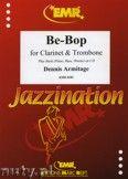 Okładka: Armitage Dennis, Be-Bop for Clarinet and Trombone