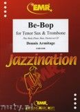 Okładka: Armitage Dennis, Be-Bop for Tenor Sax and Trombone