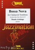 Okładka: Armitage Dennis, Bossa Nova for Clarinet and Trombone