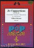 Okładka: Becaud Gilbert, Je t'appartiens - Wind Band