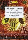 Okładka: Martini Jean-Paul, Plaisir d'amour (Chorus SATB) - Wind Band