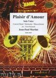 Okładka: Martini Jean-Paul, Plaisir d'amour (Solo Voice) - Wind Band