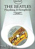 Okładka: Beatles The, Guest Spot: The Beatles Playalong For Saxophone