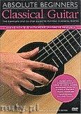 Okładka: , Absolute Beginners: Classical Guitar (DVD)