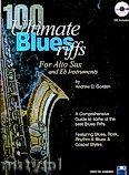 Okładka: Gordon Andrew D, 100 Ultimate Blues Riffs - Alto Saxophone/E Flat Instruments
