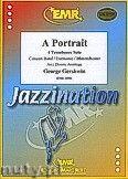 Okładka: Gershwin George, A Portrait for 4 Trombones and Wind Band