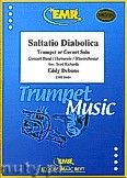 Okładka: Debons Eddy, Saltatio Diabolica (Trumpet or Cornet) - Trumpet & Wind Band
