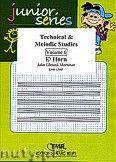 Okładka: Mortimer John Glenesk, Technical & Melodic Studies Vol. 6 - Eb Horn Studies