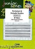 Okładka: Mortimer John Glenesk, Technical & Melodic Studies Vol. 5 (Eb) - Eb - Bb Bass Studies