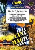 Okładka: Różni, Play The 1st Baritone (Cinemagic 9 + CD) - Play with the Philharmonic Wind Orchestra