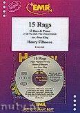 Okładka: Fillmore Henry, 15 Rags + CD - Eb Bass & CD Playback