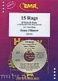 Okładka: Fillmore Henry, 15 Rags + CD - Eb Horn & CD Playback