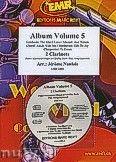 Okładka: Naulais Jérôme, Album Volume 5 (5) - 2 Clarinets