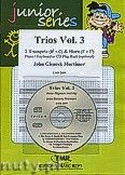 Okładka: Mortimer John Glenesk, Trios, Vol. 3 for 2 Trumpets (Cornets) and Horn