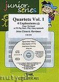 Okładka: Mortimer John Glenesk, Quartets Vol. 1 + CD - 4 Euphoniums & CD Playback