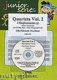 Okładka: Mortimer John Glenesk, Quartets Vol. 2 + CD - 4 Euphoniums & CD Playback