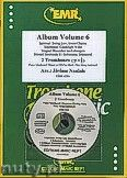 Okładka: Naulais Jérôme, Album Volume 6 + CD (5) - 2 Trombones & CD Playback