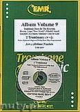 Okładka: Naulais Jérôme, Album Volume 9 + CD (5) - 2 Trombones & CD Playback