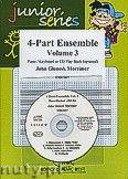 Okładka: Mortimer John Glenesk, 4 Part Ensemble Vol. 3 + CD - 4-Part Ensemble & CD Playback
